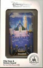Disney Parks Mobile Castle iPhone 3G Cover Clip Case & Screen Guard Phone Case N