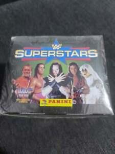 Panini WWF SUPERSTARS Sealed Box of 50 packs