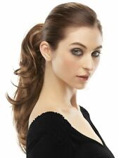Rampage by Jon Renau Wigs - Clip on Ponytail  New Hairpiece In Brown #6 New Wigs