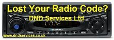 Blaupunkt RADIO CODE sblocco Decode per numero di serie-Dublino c30 7 640 120 510