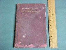 1901 Antique; Hawkins' Indicator Catechism; Steam Engine Mechanic's Book 1ST. ED