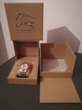 Burberry BU9003 GOLD TONE SWISS MADE SAPPHIRE CRYSTAL 38mm WATCH