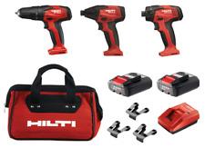 Hilti Li-Ion Rotary Impact Driver/Hammer Drill & Screwdriver Combo Kit New