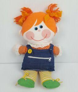 Playskool Dressy Bessy 1976 Teaching Dress-up Doll Vintage #4531