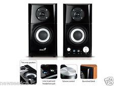 Genius SP-HF500A 14 W 2.0 Hi-Fi Wood Speakers
