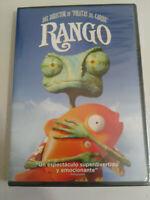 RANGO ANIMACION DVD + EXTRAS ESPAÑOL ENGLISH PRECINTADA NUEVA
