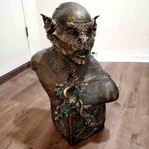 Bram Stokers Dracula Statue Life Size THE BAT Horror Bust Shadow Daran Holt Art