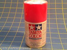 Tamiya PS-33 Cherry Red Polycarbonate Spray Paint #86033 Mid-America Raceway