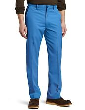 Haggar C18 Golf Pants 38 x 32 Straight Slim Fit Flat Front stretch NEW