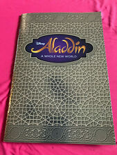 Disney Aladdin Broadway Musical Souvenir Play Book Program