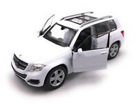 Model Car Mercedes Benz GLK SUV White Car Scale 1:3 4-39 (Licensed)