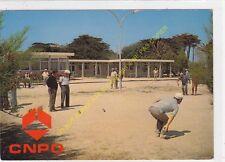 CP 83400 HYERES CNPO LA FONT DES HORTS Jeux de Boules pétanque  Edit ARIS 1986