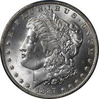 1887-O Morgan Silver Dollar PCGS MS64 Bright White Great Eye Appeal Nice Strike