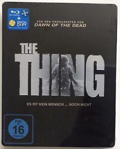 THE THING Exclusive Embossed Steelbook Blu-Ray NEU/NEW SEALED OOP OVP Deutsch
