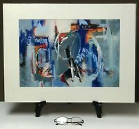 """Giclée Print Matted 18x24 """"Pure Oceanic Perception #2"""" by artist Elaine Lanoue"""