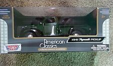 1941 Plymouth Pickup 1:24 Diecast | MotorMax Premium Collection FACTORY SEALED