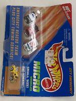 Vtg Hotwheels Micro Vehicles Emergency Rescue Team Mattel 17225 A2573