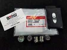 NEW GENUINE HONDA ALLOY WHEEL LOCK SET 08W42-TK4-100