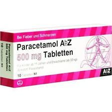 Paracetamolo ABZ Tabl 500mg 10st 1234473