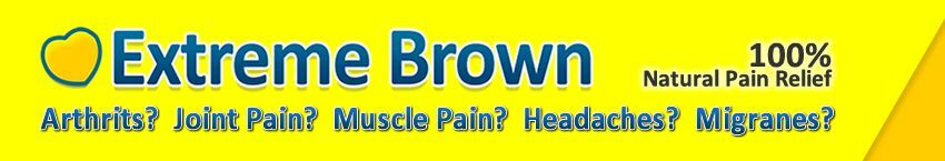 Extreme Brown Natural Pain Relief
