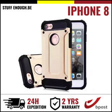 Gold Plated Armor Cover Cas Coque Etui Silicone Hoesje Case Or For iPhone 8