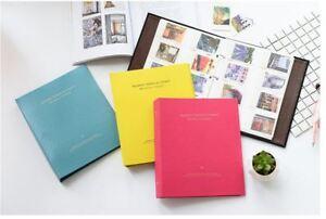 400 Pockets 3 Binder Photo Album FujiFilm Instax Mini Polaroid Fuji Film Camera
