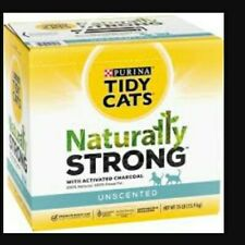 Purina Tidy Cats Naturally Strong with Activated Charcoal Pack 35lb