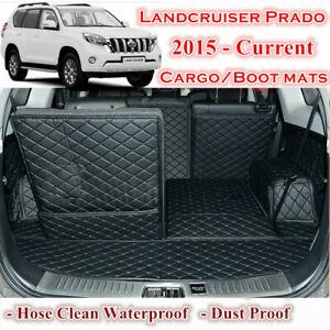 Tailor Made Boot Liner Cargo Mat Cover for Toyota Land cruiser Prado 2015 - 2021