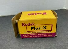 Vintage Kodak black white 35 mm print film unexposed Plus-X 20 exp PX135 1967
