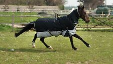 LAST ONE Rhinegold Aspen 350gsm Fixed Neck Horse Turnout Rug 1000d outer 4ft6in