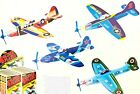 4 Pack Retro Foam Glider Plane RGP