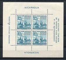 Nicaragua Block 18 postfrisch / Segeln ....................................1/132