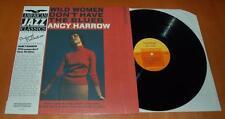 NANCY HARROW-Wild le donne non hanno il blues - 1985 BLACK LION RECORDS LP