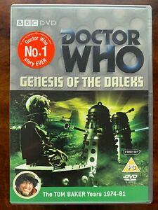 Doctor Who Genesis of the Daleks DVD 1975 Classic BBC Sci-Fi TV Series Tom Baker