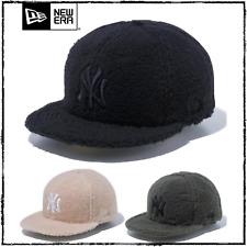 New Era 59Fifty Cap New York Yankees Boa Fleece Fabric Fitted Hat NYY Unisex New