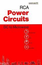 RCA Power Circuits Technical Series * SP-51 * CDROM * PDF