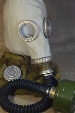 Military Soviet  Russian Gas Mask GP-5  Grey with hose .Full Set, New,Nos