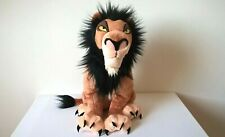 """Disney Store  / The Lion King - Scar 15"""" Plush / Soft Toy - Stamped"""