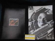 Bob Marley & Wailers 1979 Japan Tour Book w Ticket Promo Paper Concert Program