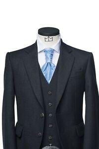 Charcoal Grey Glen Orchy Tweed Kilt Jacket (Ex Hire)