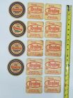 Vintage Lot of 4 1950's & 10 1960's Reading Beer Coasters Reading, Pa 14 in all