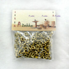 1/6 BJD Doll Dress Making DIY Crafts Metal Mini Eyelet 2mm GOLD (300pcs)