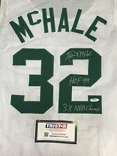 "Kevin McHale Autographed Boston Celtics Jersey ""HOF 99/3x NBA Champ"" Tri-Star"
