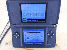 Nintendo DS Lite negro con fuente de alimentación-sin juegos y accesorios