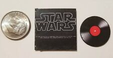 "Dollhouse Miniature Album 1""  1/12 scale Barbie  Star Wars Movie Soundtrack"