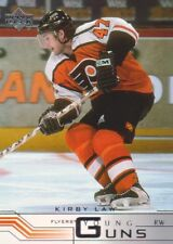 2001-02 Upper Deck Hockey #202 Kirby Law YG RC Philadelphia Flyers