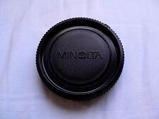 Minolta bc-1 MD MC ORIGINALE VINTAGE BLACK BODY CAP COPERCHIO anni'60-ANNI'90 Rokkor bc1
