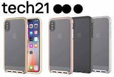 Genuine Apple iPhone X Tech21 Evo Elite Case Light - Black / Silver / Rose Gold