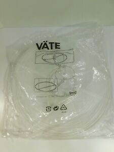 """NEW Ikea Vate Paper Lamp Shade 18"""" White #15621 #501.757.71"""