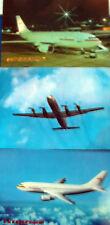 AK Postkarten  Interflug 3 Stück IL 18 A310